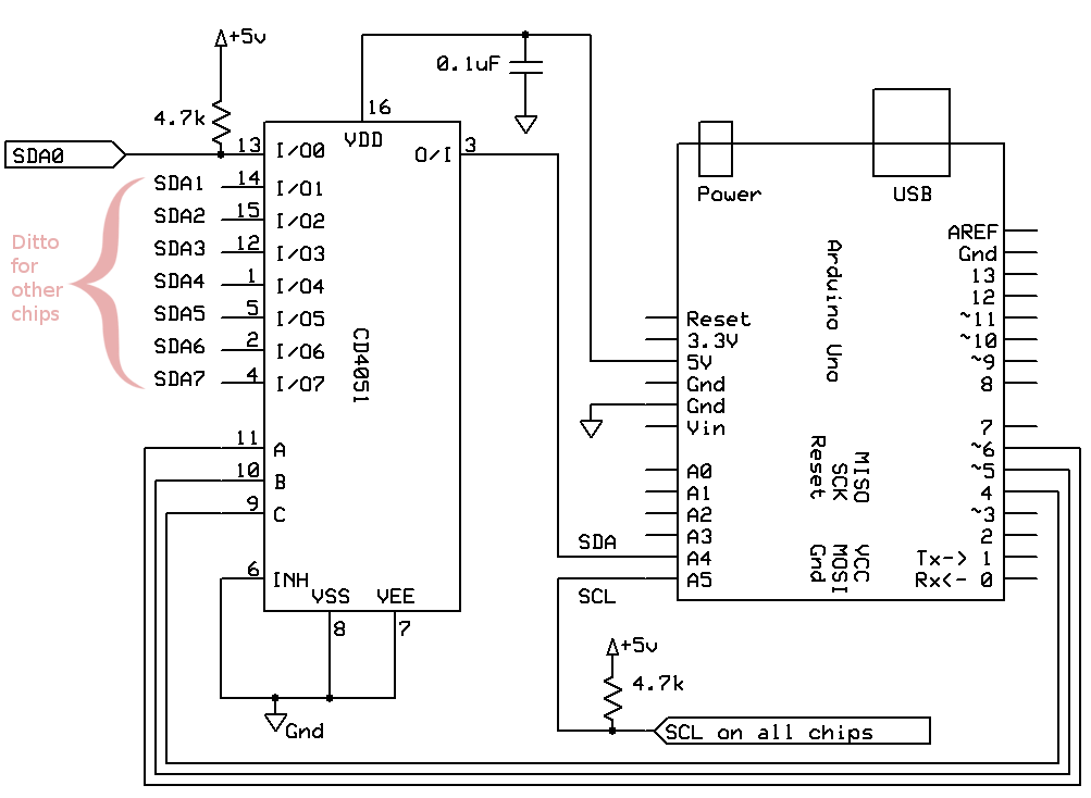 Gammon Forum : Electronics : Microprocessors : I2C - Two-Wire