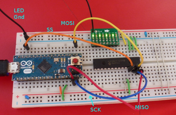 MCP23S17 and arduino MICRO [Solved]