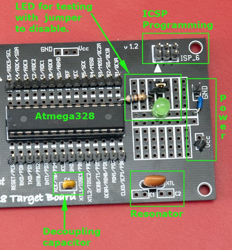Making bootloader for atmega