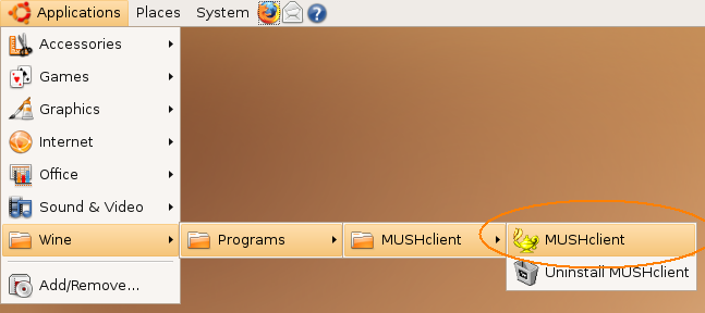 Starting MUSHclient