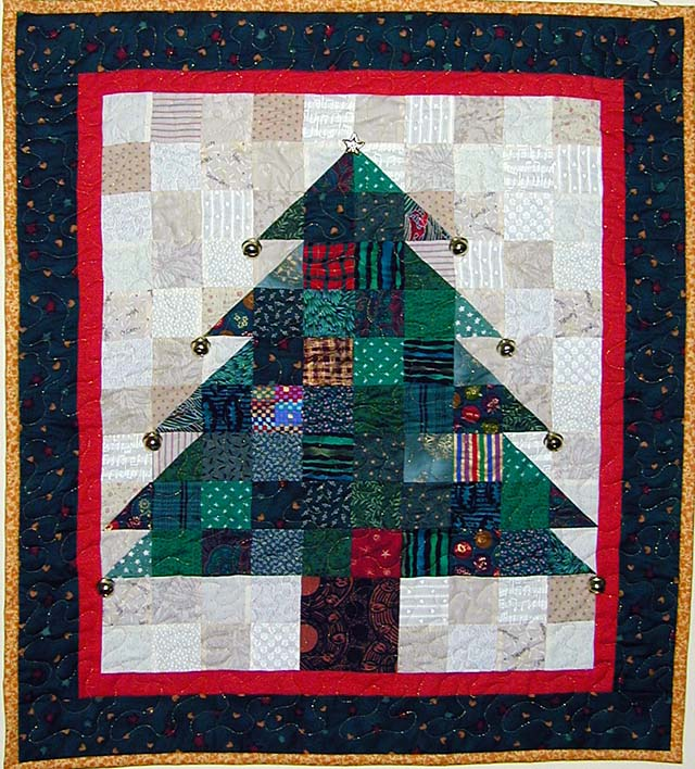 Free Quilt Patterns Christmas Tree : Christmas Tree Quilt Pattern Browse Patterns